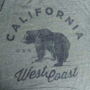 Old Navy California West Coast Shirt - Sz M - EUC